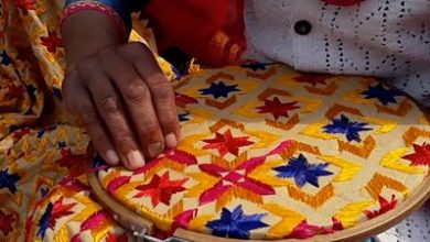 Photo of Phulkari: The women saving India's intricate flower embroidery