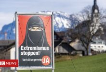 Photo of Switzerland referendum: Voters support ban on face coverings in public