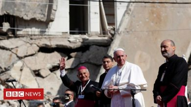 Photo of Pope Francis visits regions of Iraq once held by Islamic State