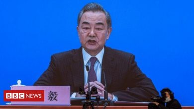 Photo of Uighurs: Chinese foreign minister says genocide claims 'absurd'