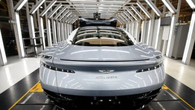 Photo of Luxury car marque Aston Martin to start making electric models in UK amid shift away from traditional vehicles – media