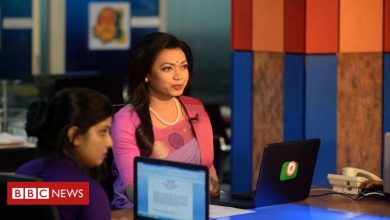 Photo of Bangladesh's first transgender news reader makes debut