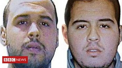 Photo of Brussels bombers 'murdered elderly man as a test'