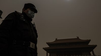 beijing-sandstorm:-city-turns-orange-and-transport-disrupted