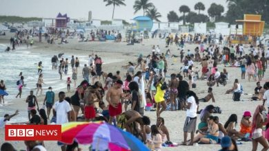 Photo of Covid-19: Miami imposes emergency curfew over spring break 'chaos'