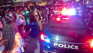 Photo of Covid-19: Curfew set in Miami after spring break parties