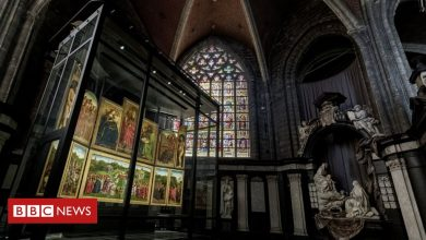 Photo of Ghent Altarpiece: Prized Van Eyck oil painting finds new home