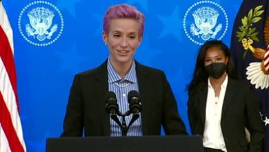 Photo of Equal pay: Megan Rapinoe was 'devalued, disrespected and dismissed'