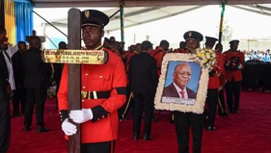 Photo of John Magufuli: Tanzania's ex-president buried in home town
