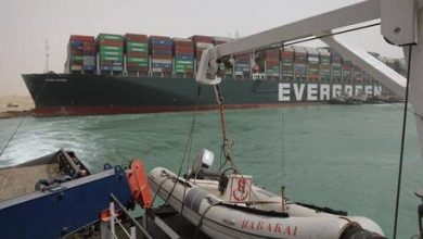 Photo of Traffic jam at Suez Canal sends global shipping costs soaring