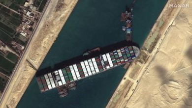 Photo of Global carriers forced to reroute ships to avoid massive Suez Canal traffic jam