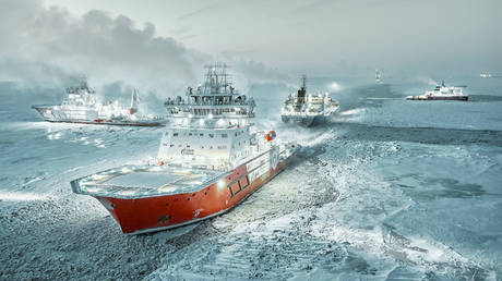 russia's-arctic-sea-route-draws-growing-global-investor-interest,-foreign-ministry-says