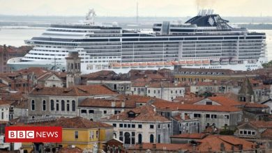 Photo of Venice bans cruise ships from historic centre