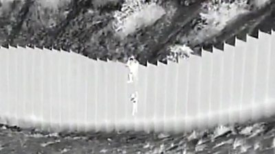 children-dropped-over-us-border-wall