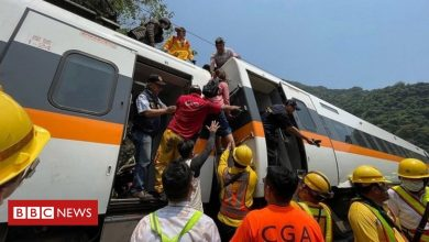Photo of Taiwan: Dozens killed as train crashes and derails in tunnel