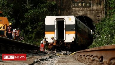 Photo of Taiwan train crash: Site boss bailed amid grief over 50 deaths