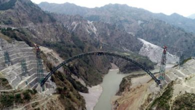 Photo of One step closer: India could complete construction of WORLD'S HIGHEST railway bridge by end of year