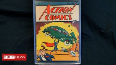 Photo of Rare Superman comic sells for record $3.25m