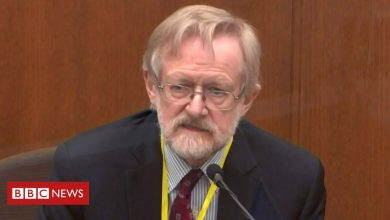 Photo of Expert says George Floyd died from lack of oxygen