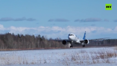 Photo of N-ice! New Russian passenger jet passes tests in freezing conditions (VIDEO)