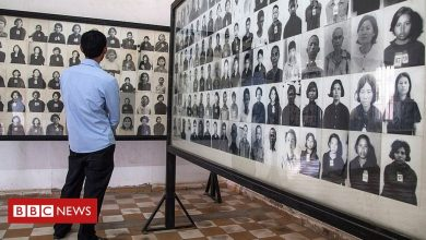 Photo of Cambodia criticises edited photos of Khmer Rouge victims