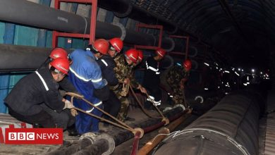 Photo of China mine rescue: Crews work to free trapped workers in Xinjiang