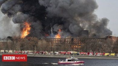 Photo of Nevskaya Manufaktura: Fire destroys historic factory in St Petersburg