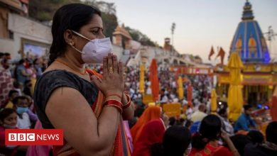 Photo of Haridwar: Crowds surging at Kumbh Mela as India overtakes Brazil in Covid cases