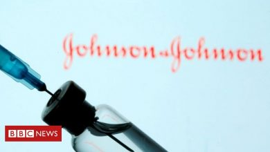 Photo of Johnson & Johnson vaccine paused over rare blood clots
