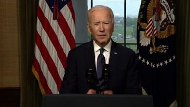 Photo of Biden: 'I won't pass Afghan war on to fifth president'