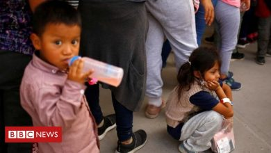 Photo of Big rise in numbers of migrant children on Mexico-US border