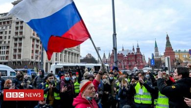 Photo of Alexei Navalny: Thousands across Russia defy ban on protests