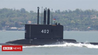 Photo of Indonesian submarine goes missing north of Bali