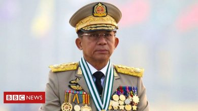 Photo of Myanmar: Military chief set to make first foreign trip since coup