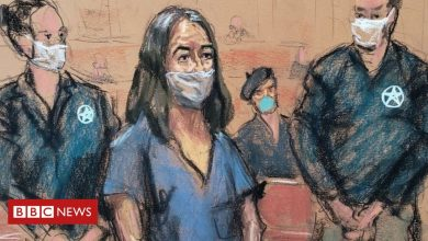 Photo of Ghislaine Maxwell makes first US court appearance