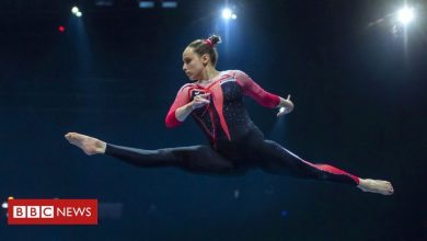 Photo of German gymnasts' outfits take on sexualisation in sport