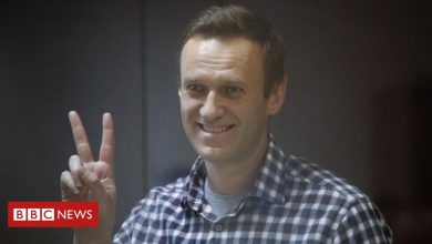 Photo of Putin opponent Navalny ends hunger strike in Russian jail