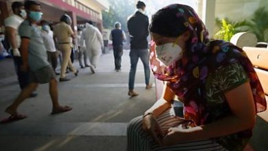 Photo of India Covid: 'A person cannot even die peacefully in Delhi'