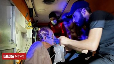 Photo of Iraq Covid hospital fire: 82 dead after 'oxygen tank explodes'