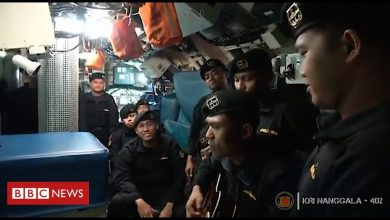 Photo of Indonesia submarine: Navy releases video of crew singing farewell song
