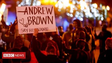 Photo of Andrew Brown: Family of black man shot by US police demand more footage