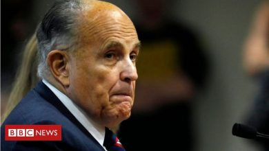 Photo of Rudy Giuliani: US investigators raid former Trump lawyer's home