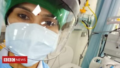 Photo of India Covid: A nurse's story of fighting the virus