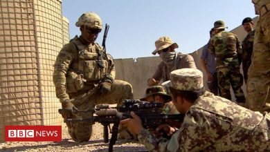 Photo of US and Nato start to formally withdraw troops from Afghanistan