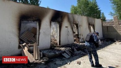 Photo of Kyrgyzstan-Tajikistan: Images of destruction after border clashes