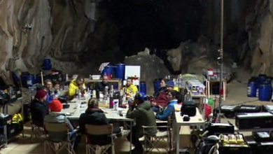 Photo of 'We spent 40 days in a cave without sunlight or watches'