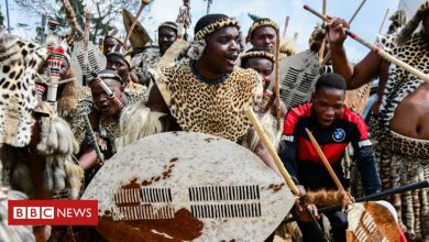 Photo of Zulu King Zwelithini's death: Royals and rebels fight for throne
