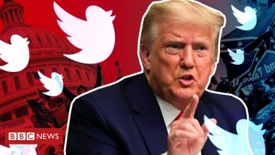 Photo of Trump social media: Twitter suspends account sharing ex-president's posts