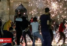 Photo of Al-Aqsa mosque: Dozens hurt in Jerusalem clashes