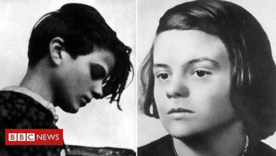 Photo of Student who stood up to Hitler and inspires Germany